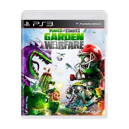 Jogo Plants Vs. Zombies Garden Warfare - PS3