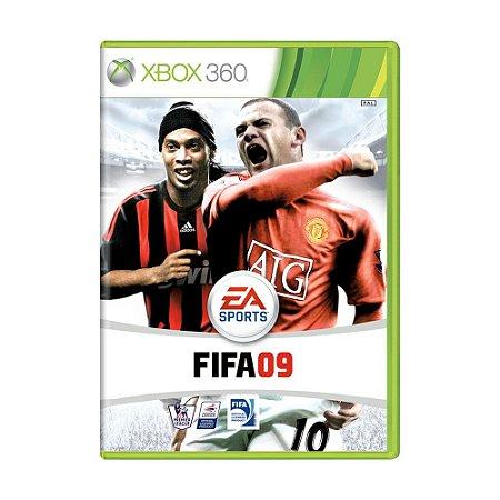 Jogo FIFA Soccer 09 - Xbox 360