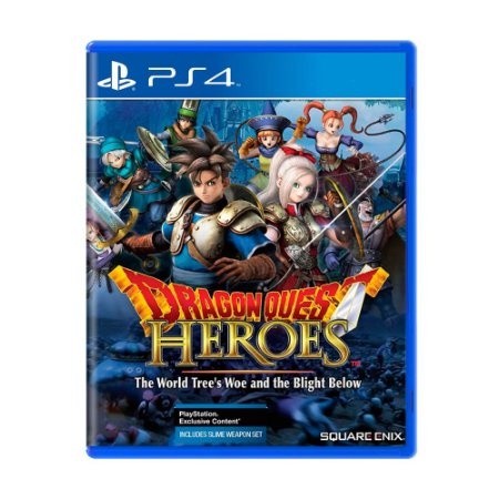 Jogo Dragon Quest Heroes: The World Tree's Woe and The Blight Below - PS4