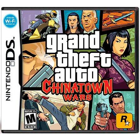 Jogo Grand Theft Auto: Chinatown Wars (GTA) - DS