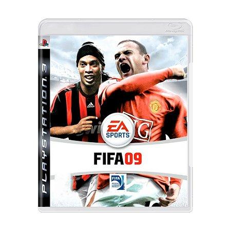 Jogo FIFA 09 - PS3