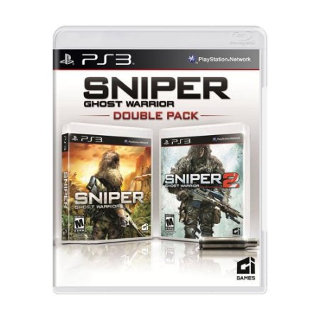 Jogo Sniper: Ghost Warrior (Double Pack) - PS3