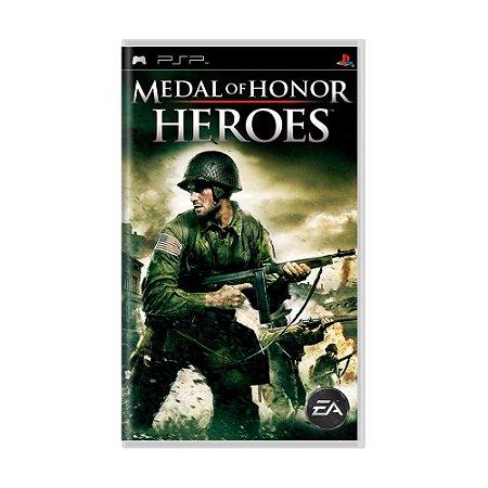 Jogo Medal of Honor: Heroes - PSP