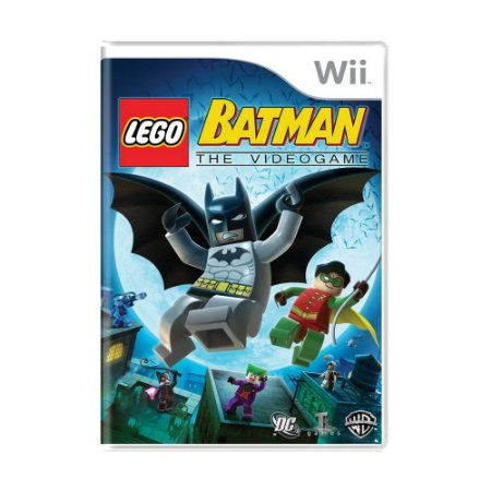 Jogo LEGO Batman: The Video Game - Wii
