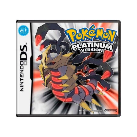Jogo Pokémon Platinum Version - DS