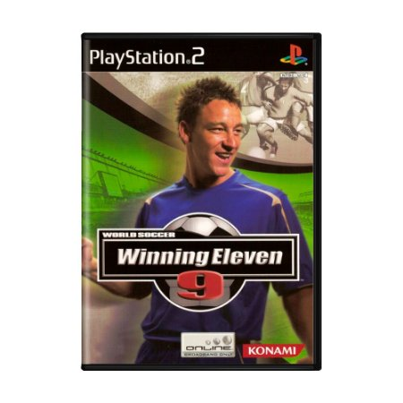 Jogo World Soccer Winning Eleven 9 - PS2