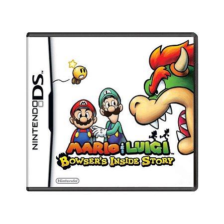 Jogo Mario & Luigi: Bowser's Inside Story - DS