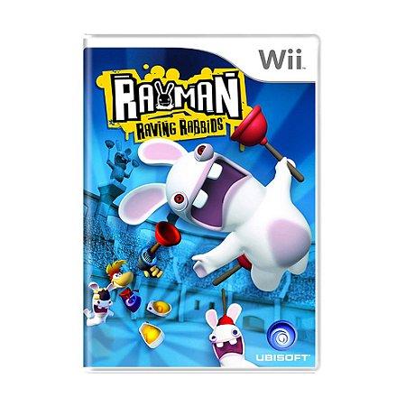 Jogo Rayman Raving Rabbids - Wii