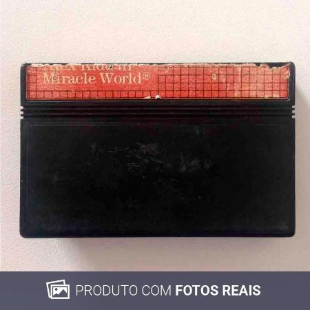 Jogo Alex Kidd In: Miracle Wolrd - Master System