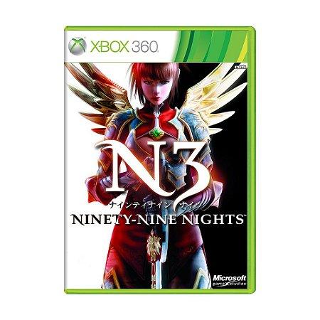 Jogo N3 Ninety-Nine Nights - Xbox 360