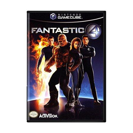 Jogo Fantastic 4 - GameCube