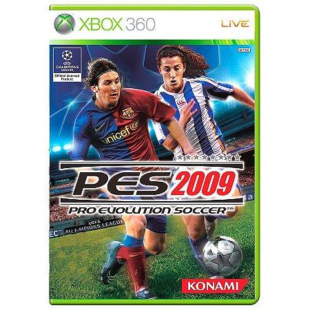 Jogo Pro Evolution Soccer 2009 - Xbox 360
