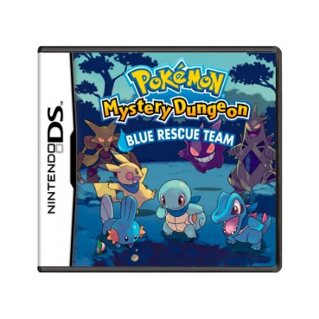 Jogo Pokémon Mystery Dungeon: Blue Rescue Team - DS