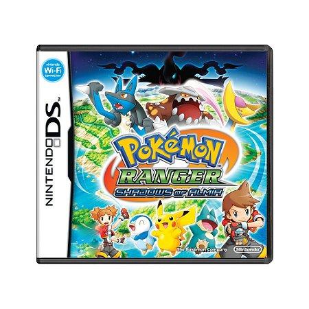 Jogo Pokémon Ranger: Shadows of Almia - DS