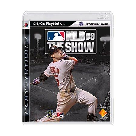 Jogo MLB 09 The Show - PS3