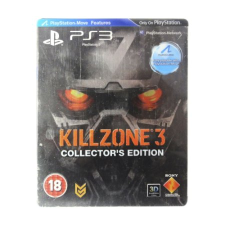 Jogo Killzone 3 (SteelCase) - PS3