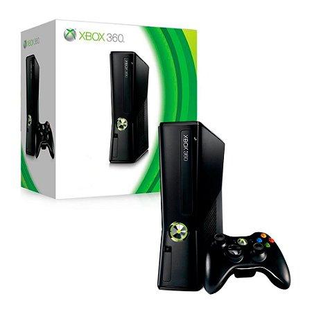 Console Xbox 360 Slim 4GB - Microsoft