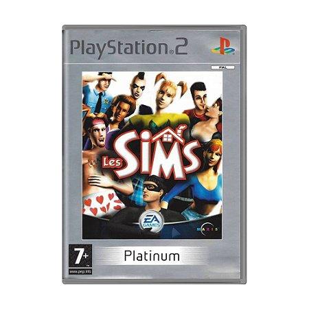 Jogo The Sims - PS2 (Europeu)