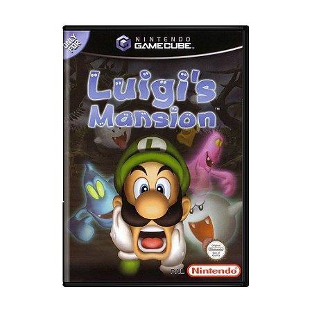 Jogo Luigi's Mansion - GC - GameCube