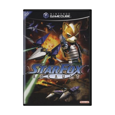 Jogo Star Fox Assault - GameCube