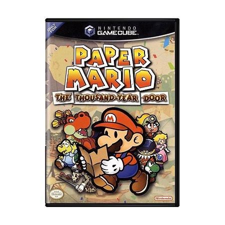 Jogo Paper Mario: The Thousand-Year Door - GC - GameCube
