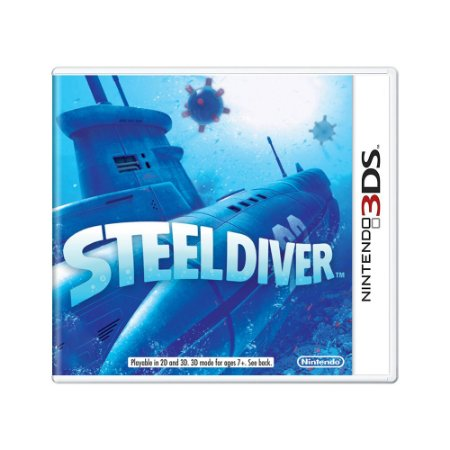 Jogo Steel Diver - 3DS