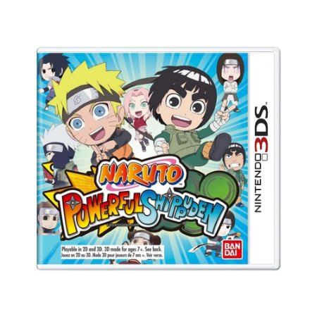 Jogo Naruto Powerful Shippuden - 3DS
