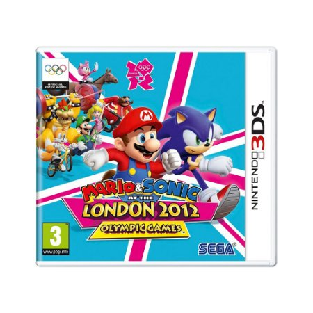 Jogo Mario & Sonic At The London 2012: Olympic Games - 3DS