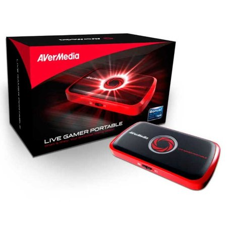 Placa De Captura Avermedia Live Gamer HD 1080p Portable