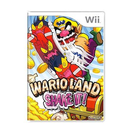 Jogo Wario Land: Shake It! - Wii