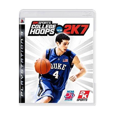 Jogo College Hoops 2K7 - PS3