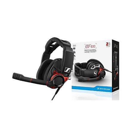 Headset Gamer Sennheiser GSP 600 com fio - PC, iMac, PS4, e Xbox One