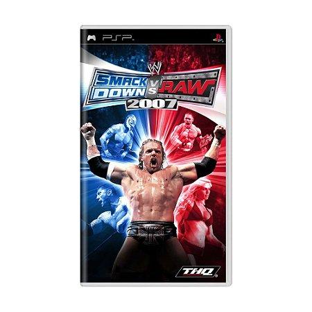 Jogo WWE SmackDown vs. Raw 2007 - PSP
