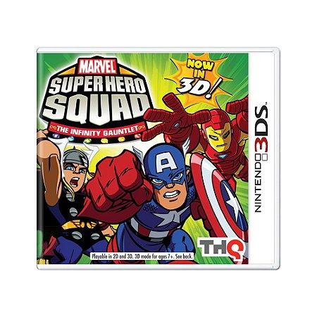 Jogo Marvel Super Hero Squad: The Infinity Gauntlet - 3DS