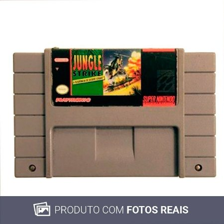 Jogo Jungle Strike - SNES