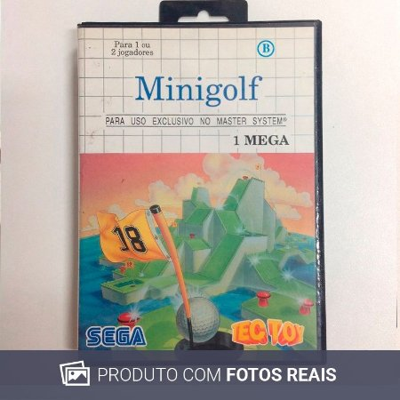 Jogo Minigolf - Master System