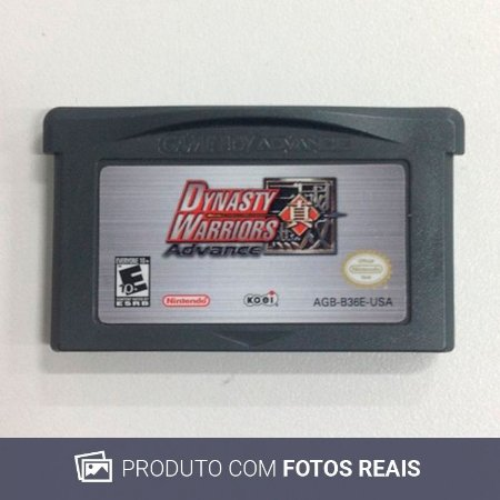 Jogo Dynasty Warriors Advance - GBA Game Boy Advance
