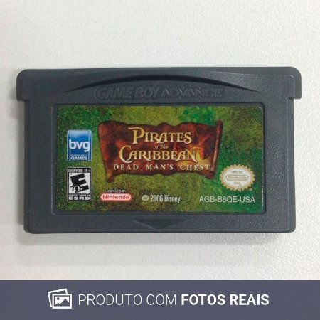 Jogo Pirates of The Caribbean - GBA Game Boy Advance