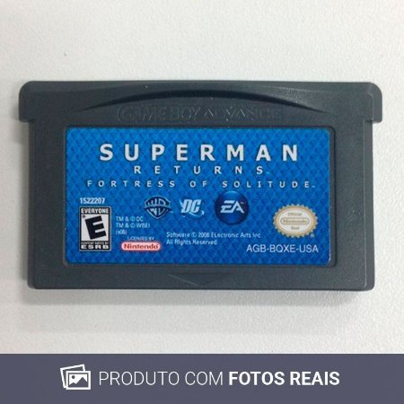 Jogo Superman Returns: Fortress of Solitude - GBA Game Boy Advance