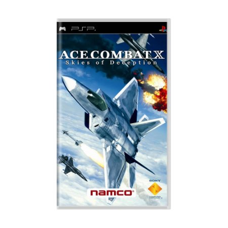 Jogo Ace Combat X: Skies of Deception - PSP
