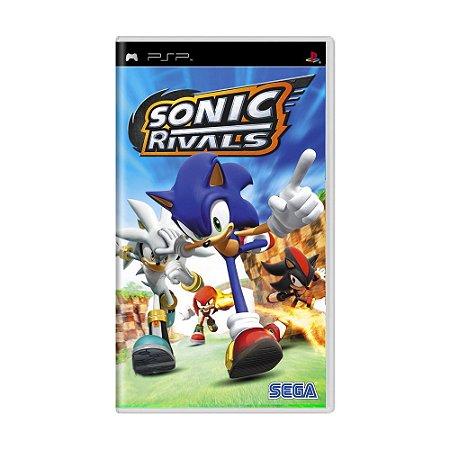 Jogo Sonic Rivals - PSP