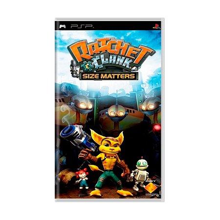 Jogo Ratchet & Clank: Size Matters - PSP