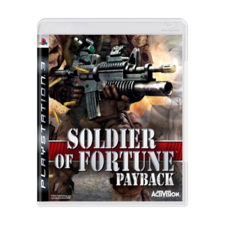 Jogo Soldier of Fortune Payback - PS3