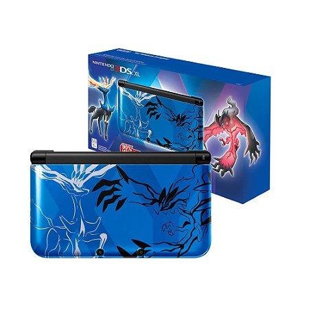 Console Nintendo 3DS XL (Pokémon X & Y Blue Edition) - Nintendo