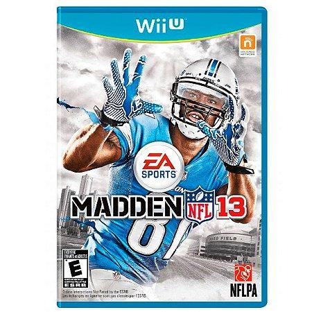 Jogo Madden NFL 13 - Wii U