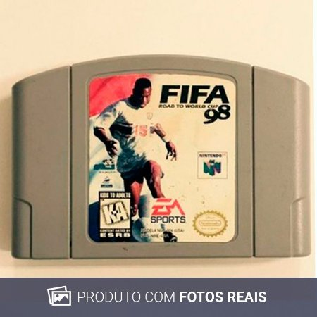 Jogo Fifa Road to World Cup 98 - N64