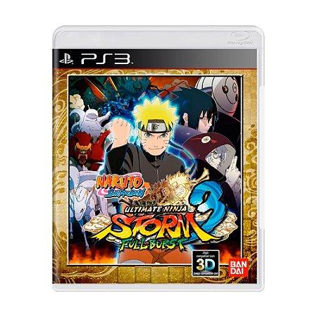 Jogo Naruto Shippuden: Ultimate Ninja Storm 3 Full Burst - PS3