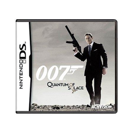 Jogo 007 Quantum of Solace - DS