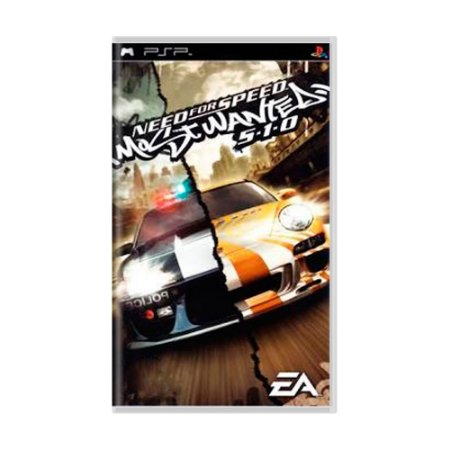 Jogo Need for Speed Most Wanted 5-1-0 - PSP