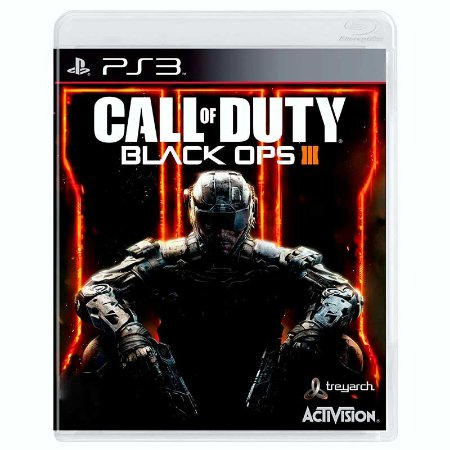Jogo Call of Duty: black Ops III - PS3